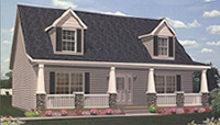 Wilmington Modular Home Artist's Rendering