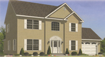 Harrington III Modular Home Artist's Rendering