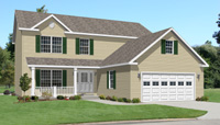 Jefferson Modular Home Artist's Rendering