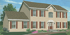 Lexington Modular Home Artist's Rendering