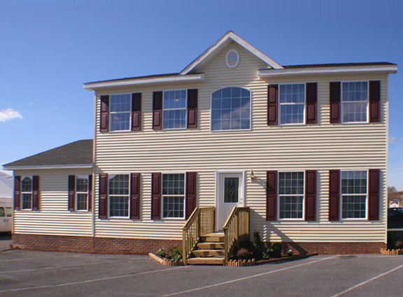 Patriot Home Sales - Model: HS101-A Sample Home Pennwest Providence Exterior Photo