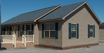 Pennwest Oakland Modular Home Exterior - Click for Details